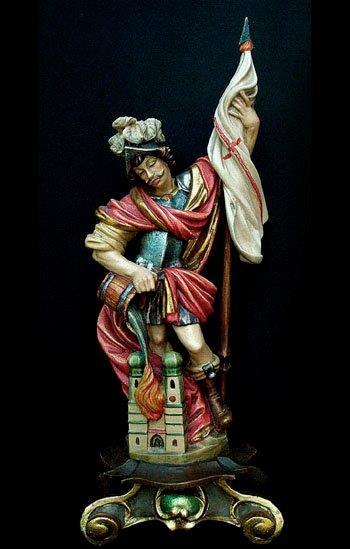 heiligenattribute buch mit bischofsmütze